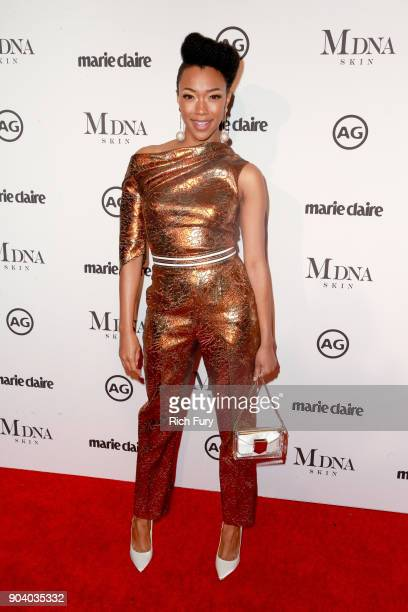 Sonequa Martin attends the Marie Claire's Image Makers Awards 2018 on January 11 2018 in West Hollywood California