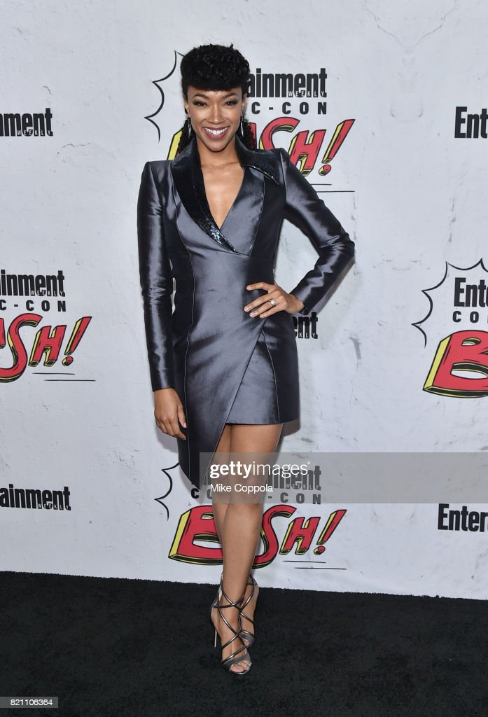 Sonequa Martin-Green at Entertainment Weekly's annual Comic-Con party in celebration of Comic-Con 2017 at Float at Hard Rock Hotel San Diego on July 22, 2017 in San Diego, California.