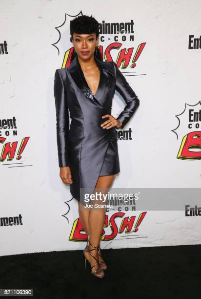 Sonequa MartinGreen at Entertainment Weekly's annual ComicCon party in celebration of ComicCon 2017 at Float at Hard Rock Hotel San Diego on July 22...