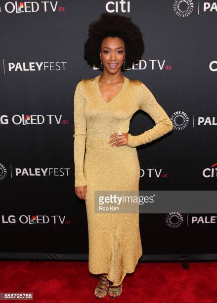 Sonequa MartinGreen attends 'Star Trek Discovery' at The Paley Center for Media on October 7 2017 in New York City