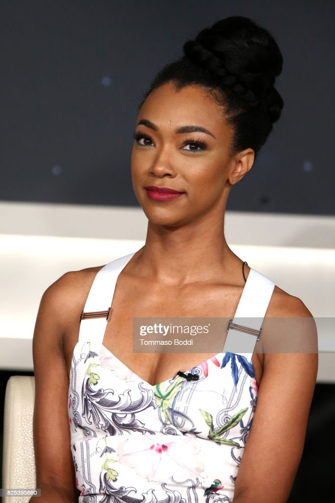 Sonequa Martin-Green attends the 2017 Summer TCA Tour - CBS Panels at Various Locations on August 1, 2017 in Los Angeles, California.