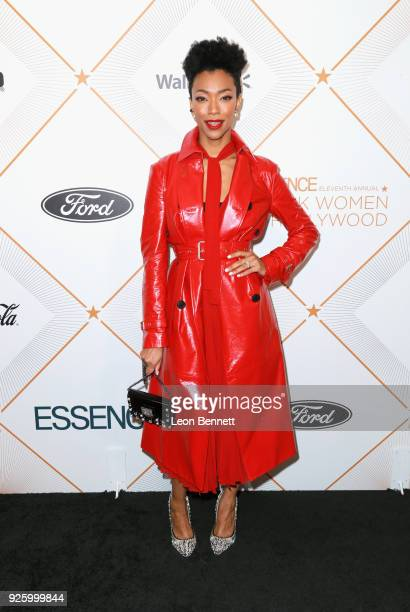 Sonequa Martin-Green attends the 2018 Essence Black Women In Hollywood Oscars Luncheon at Regent Beverly Wilshire Hotel on March 1, 2018 in Beverly...