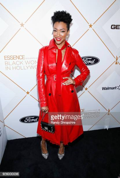 Sonequa MartinGreen attends the 2018 Essence Black Women In Hollywood Oscars Luncheon at Regent Beverly Wilshire Hotel on March 1 2018 in Beverly...