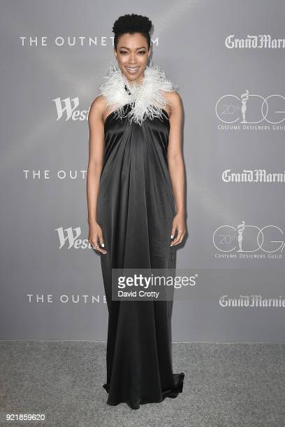 Sonequa MartinGreen attends the 20th CDGA Arrivals on February 20 2018 in Beverly Hills California