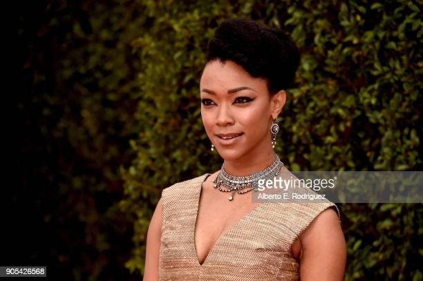 Sonequa MartinGreen attends the 49th NAACP Image Awards at Pasadena Civic Auditorium on January 15 2018 in Pasadena California