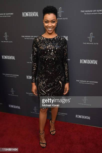 Sonequa Martin-Green attends the Los Angeles Confidential Impact Awards at The LINE Hotel on June 09, 2019 in Los Angeles, California.