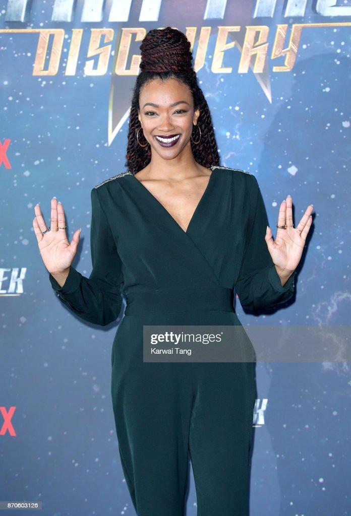 Actor Sonequa Martin-Green attends the Star Trek