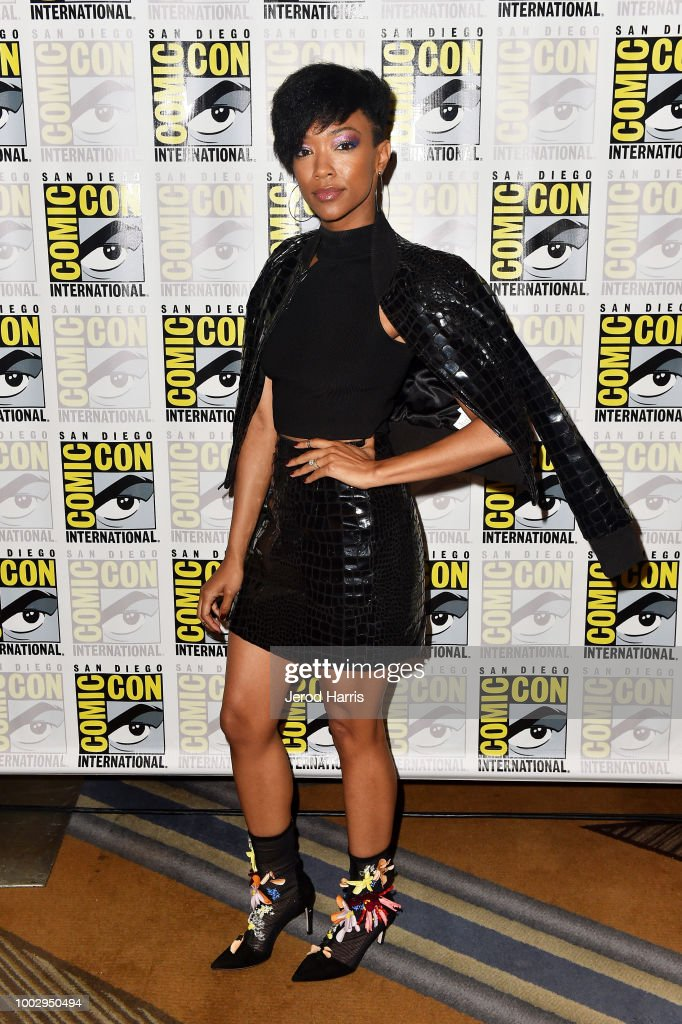 Sonequa Martin-Green attends the Star Trek: Discovery