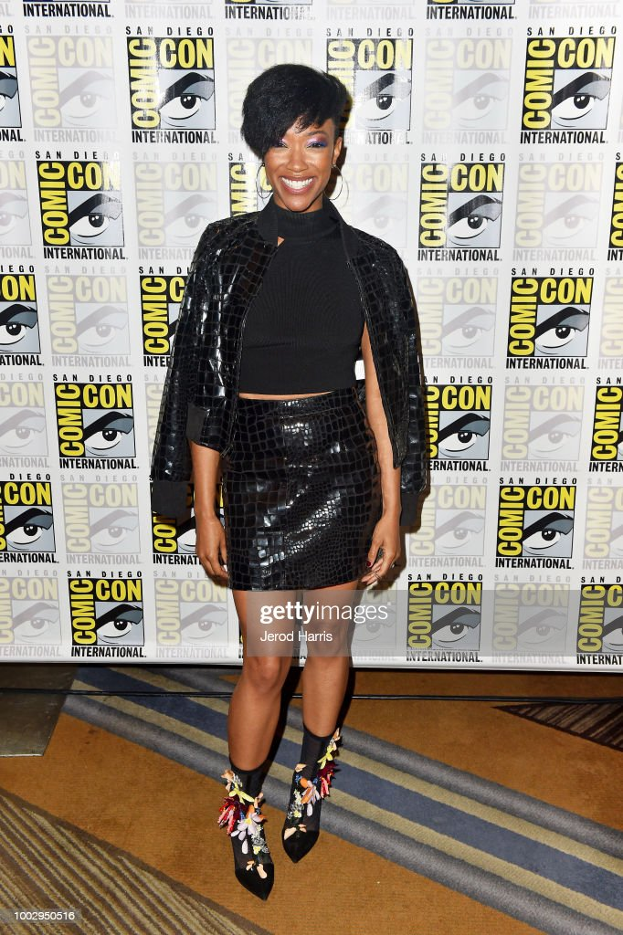 Comic-Con International 2018 -  'Star Trek: Discovery' Press Conference And Red Carpet : News Photo
