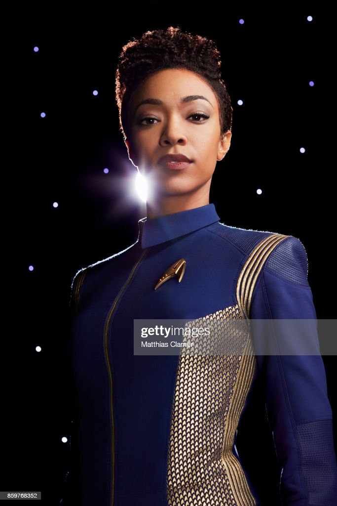 Sonequa Martin-Green from Star Trek Discovery is photographed for Entertainment Weekly Magazine on July 9, 2017 in Los Angeles, California. COVER