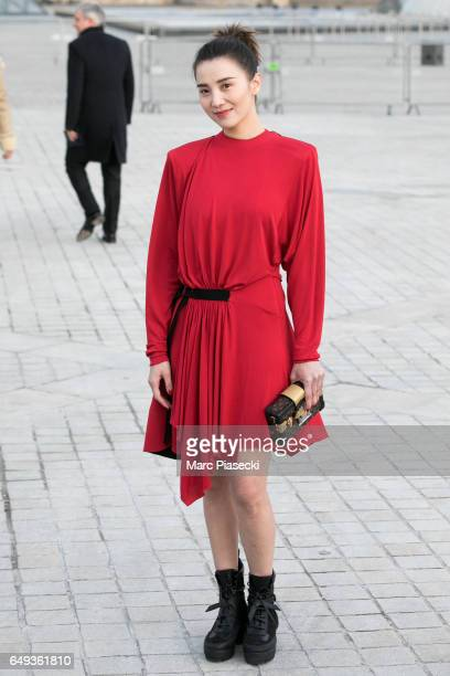 Song Jia attends the Louis Vuitton show as part of the Paris Fashion Week  Womenswear Fall bcf6fb091a3