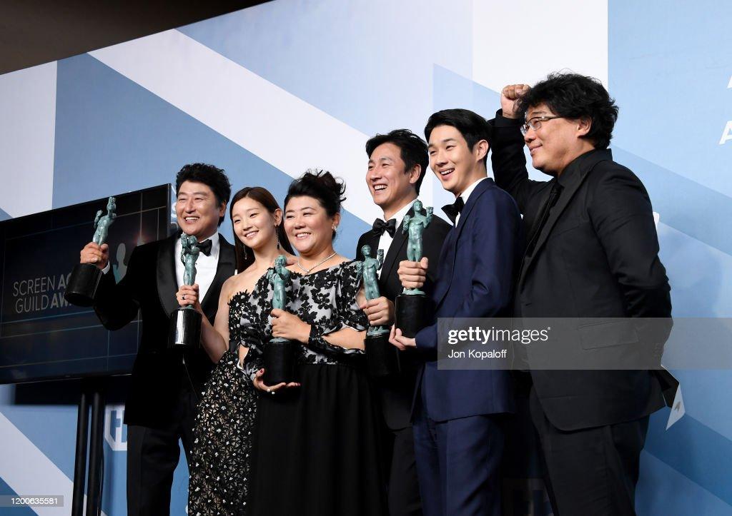 26th Annual Screen ActorsGuild Awards - Press Room : News Photo