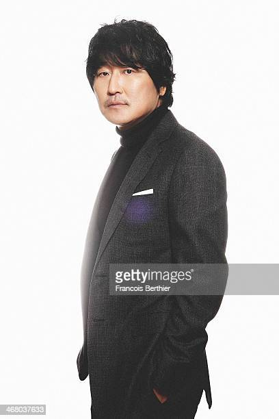 Song Kangho by Photographer Francois Berthier for the Contour Collection poses during the 'Snowpiercer' Portrait Session at the 64th Berlinale...