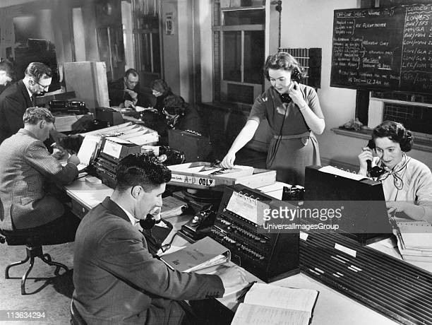 Song of the Clouds telephone switchboard 1956