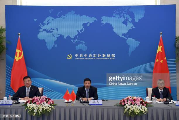 Song Tao , head of the International Liaison Department of the Communist Party of China Central Committee, attends the Shanghai Cooperation...