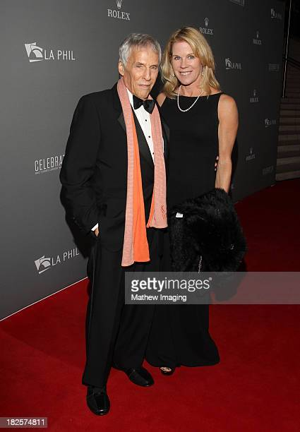 Song writer Burt Bacharach and Jane Hanson arrive at the Los Angeles Philharmonic's 10th Anniversary Celebration at Walt Disney Concert Hall on...