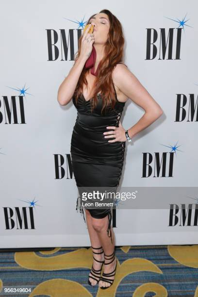 Song writer RuthAnne Cunningham attends the 66th Annual BMI Pop Awards Arrivals at the Beverly Wilshire Four Seasons Hotel on May 8 2018 in Beverly...