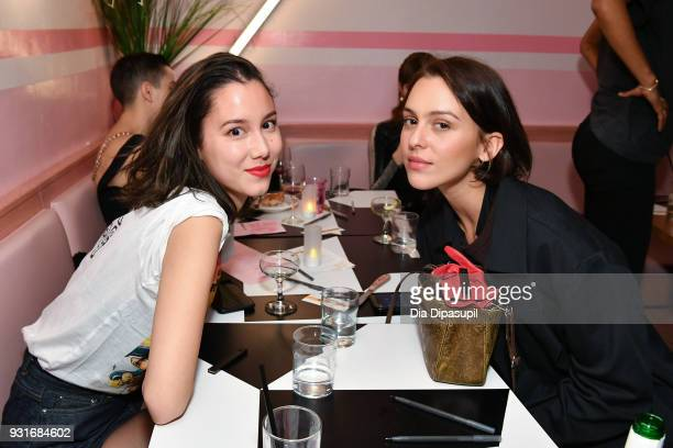SongI Saba and Ondine Vinao attend the Trans Awareness Dinner at Pietro Nolita on March 13 2018 in New York City