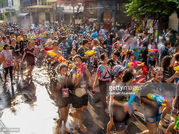 songkran festival - buddhist new year stock pictures, royalty-free photos & images