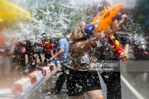 songkran - buddhist new year stock pictures, royalty-free photos & images
