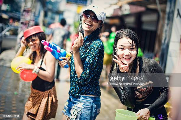 CONTENT] Songkran Water festival Thai new year