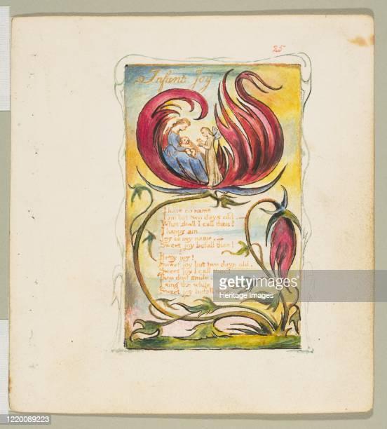 Infant Joy circa 1825 Artist William Blake