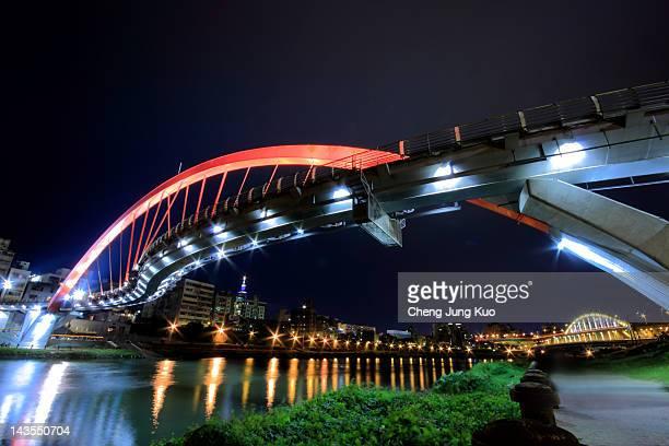 songshan rainbow bridge - 河南省 ストックフォトと画像