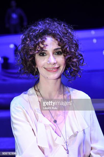 Songul Oden attends the Sudi Etuz show during MercedesBenz Istanbul Fashion Week on March 29 2018 in Istanbul Turkey
