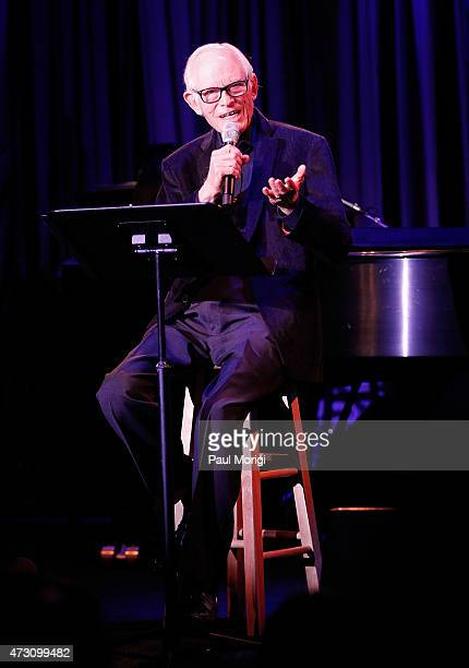 Songwriter Alan Bergman performs at the 7th Annual We Write The Songs Concert at The Library of Congress on May 12 2015 in Washington DC