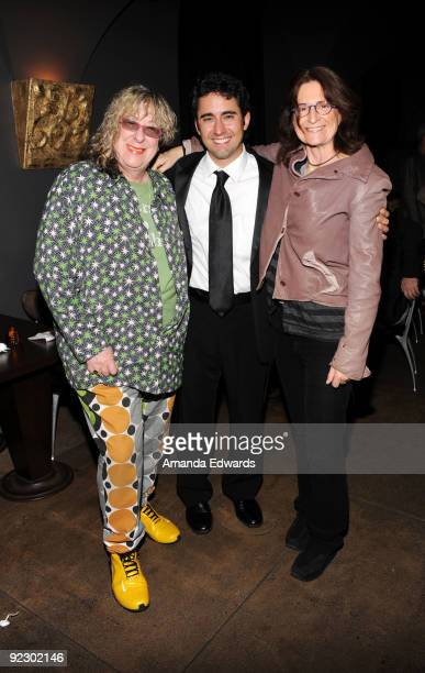 "Songwriter Allee Willis, John Lloyd Young and Prudence Fenton attend the after-party for ""Oy Vey! My Son Is Gay!"" at Vermont on October 22, 2009 in..."