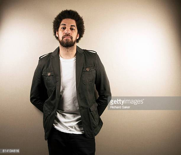 Songwriter and producer Danger Mouse is photographed for the Observer on November 6 2015 in London England