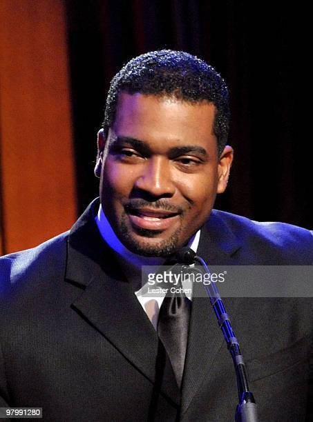 Songwriter Anthony Santos speaks onstage at 18th Annual ASCAP Latin Music Awards at The Beverly Hilton hotel on March 23, 2010 in Beverly Hills,...