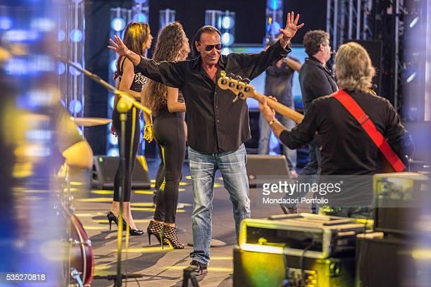 Songwriter Antonello Venditti at CocaCola Summer Festival Rome Italy 26th June 2015