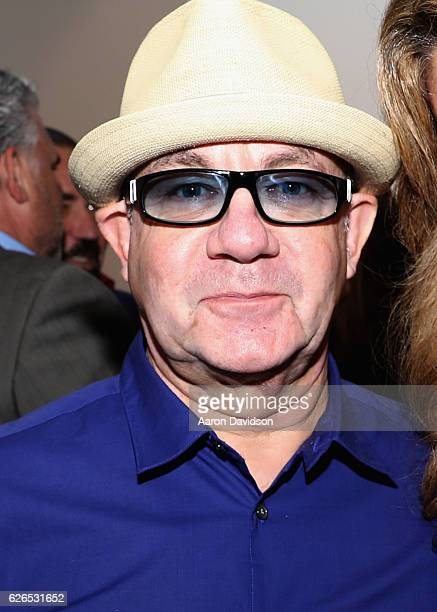 Songwriter Bernie Taupin attends the Art Miami 2016 VIP Preview at Art Miami Pavilion on November 29 2016 in Miami Florida