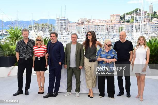 Songwriter Bertrand Belin, Melanie Thierry, Director Arnaud Larrieu, Director Jean-Marie Larrieu, Maiwenn, Josiane Balasko, Songwriter Dominique A...