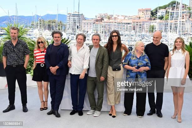 Songwriter Bertrand Belin, Melanie Thierry, Director Arnaud Larrieu, Mathieu Amalric, Director Jean-Marie Larrieu, Maiwenn, Josiane Balasko,...