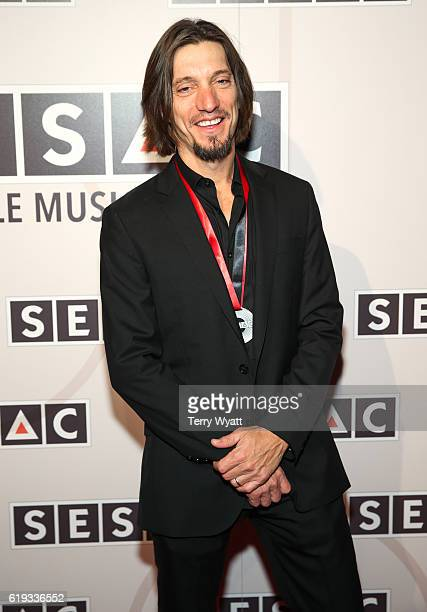 Songwriter Brad Warren attends the 2016 SESAC Nashville awards at the Country Music Hall of Fame and Museum on October 30 2016 in Nashville Tennessee