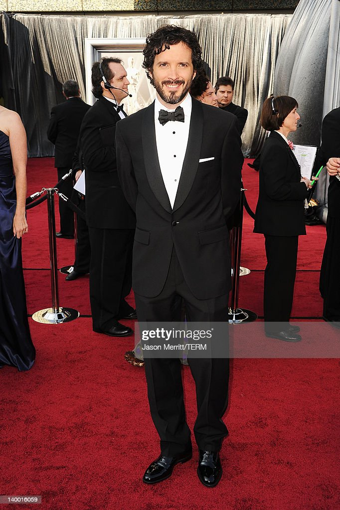 Songwriter Bret McKenzie arrives at the 84th Annual Academy Awards held at the Hollywood & Highland Center on February 26, 2012 in Hollywood, California.
