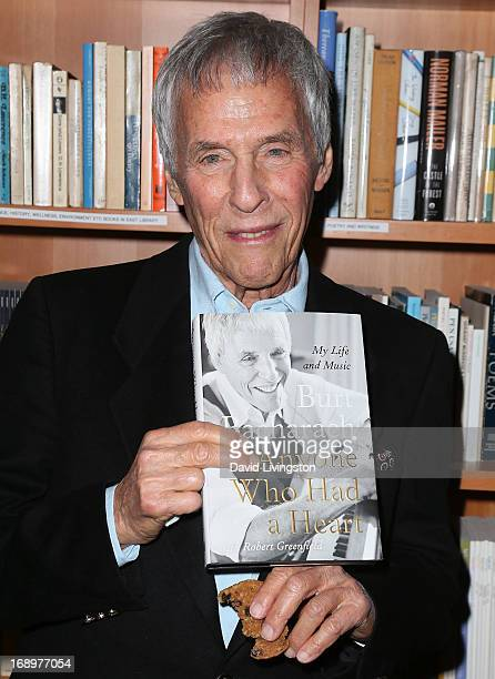 Songwriter Burt Bacharach attends An Evening with Burt Bacharach presented by Live Talks Los Angeles at the New Roads School on May 17 2013 in Santa...