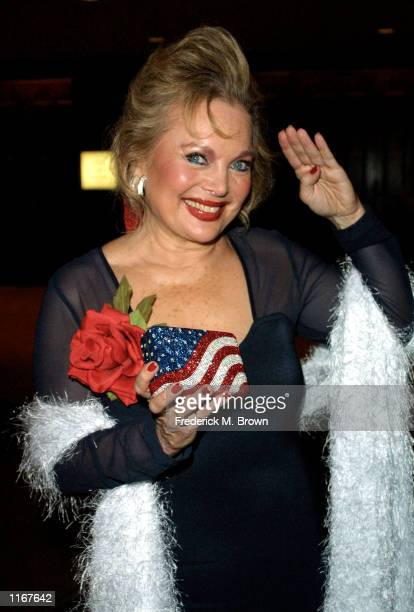 Songwriter Carol Connors attends the 46th Annual Thalians Ball October 13 2001 in Los Angeles CA The gala benefits the Thalians Mental Health Center...