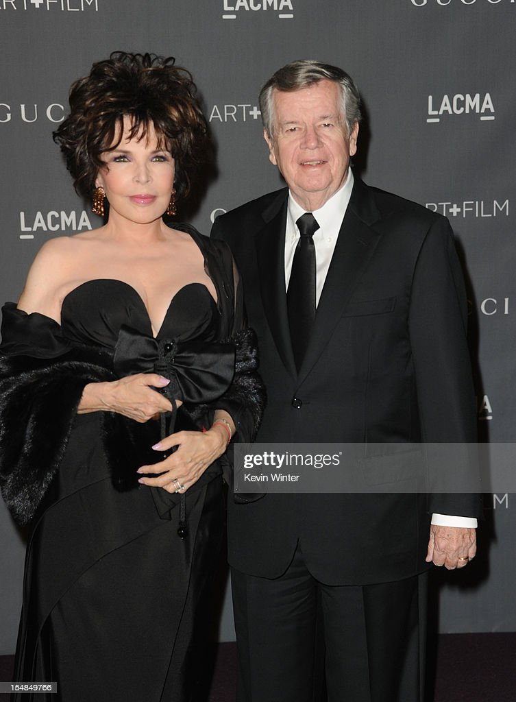 Songwriter Carole Bayer Sager and producer Bob Daly arrive at LACMA 2012 Art + Film Gala at LACMA on October 27, 2012 in Los Angeles, California.