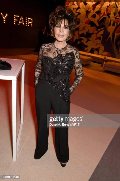 Songwriter Carole Bayer Sager attends the 2017 Vanity Fair Oscar Party hosted by Graydon Carter at Wallis Annenberg Center for the Performing Arts on...