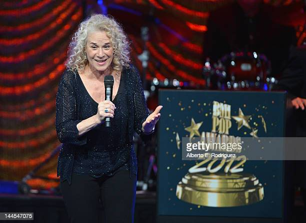 Songwriter Carole King is honored at the 60th Annual BMI Pop Music Awards on May 15 2012 in Beverly Hills California