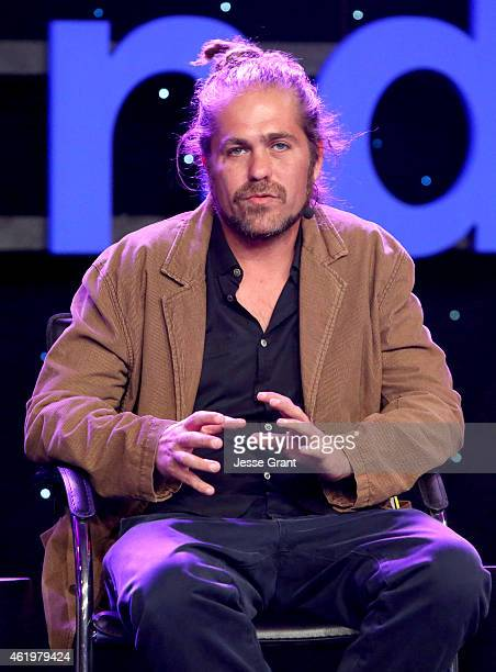Songwriter Citizen Cope attends the 2015 National Association of Music Merchants show at the Anaheim Convention Center on January 22 2015 in Anaheim...