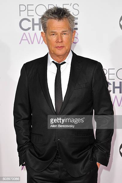 Songwriter David Foster arrives at the People's Choice Awards 2016 at Microsoft Theater on January 6 2016 in Los Angeles California