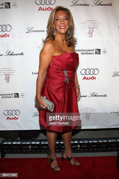 Songwriter Denise Rich attends Gabrielle's Gala benefitting Gabrielle's Angel Foundation for Cancer Research, hosted by Denise Rich at Cipriani Wall...