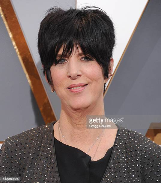 Songwriter Diane Warren arrives at the 88th Annual Academy Awards at Hollywood Highland Center on February 28 2016 in Hollywood California