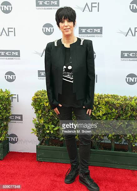 Songwriter Diane Warren arrives at the American Film Institute's 44th Life Achievement Award Gala Tribute to John Williams at Dolby Theatre on June...