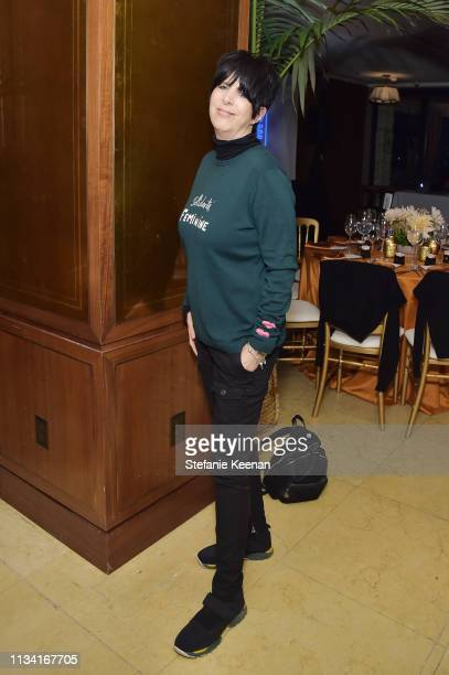 Songwriter Diane Warren attend Screening of Right to Desire Video Short by Funny or Die Hosted By Cindy Eckert at Sunset Tower Hotel on March 06 2019...