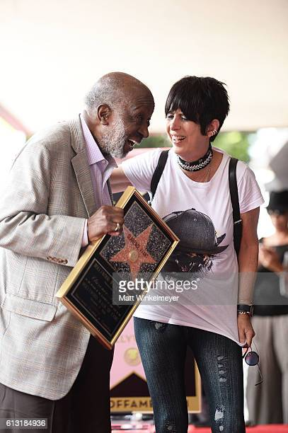 Songwriter Diane Warren attends a ceremony honoring Music Executive Clarence Avant with a star on the Hollywood Walk of Fame on October 7 2016 in...